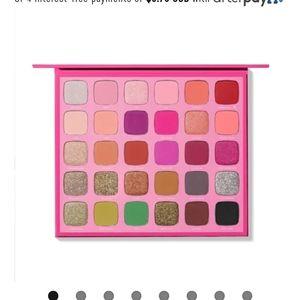 Jeffree Star Morphe X Artistry eyeshadow palette
